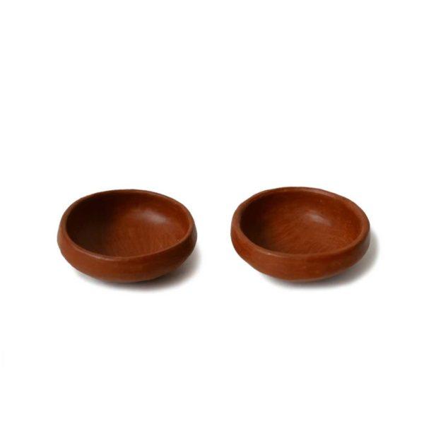 Mexican Barro Rojo Ceramic Salt and Pepper Saucers - www.nidocollective.com #barrorojo #mexicanceramics #redclaypottery #terracottapottery
