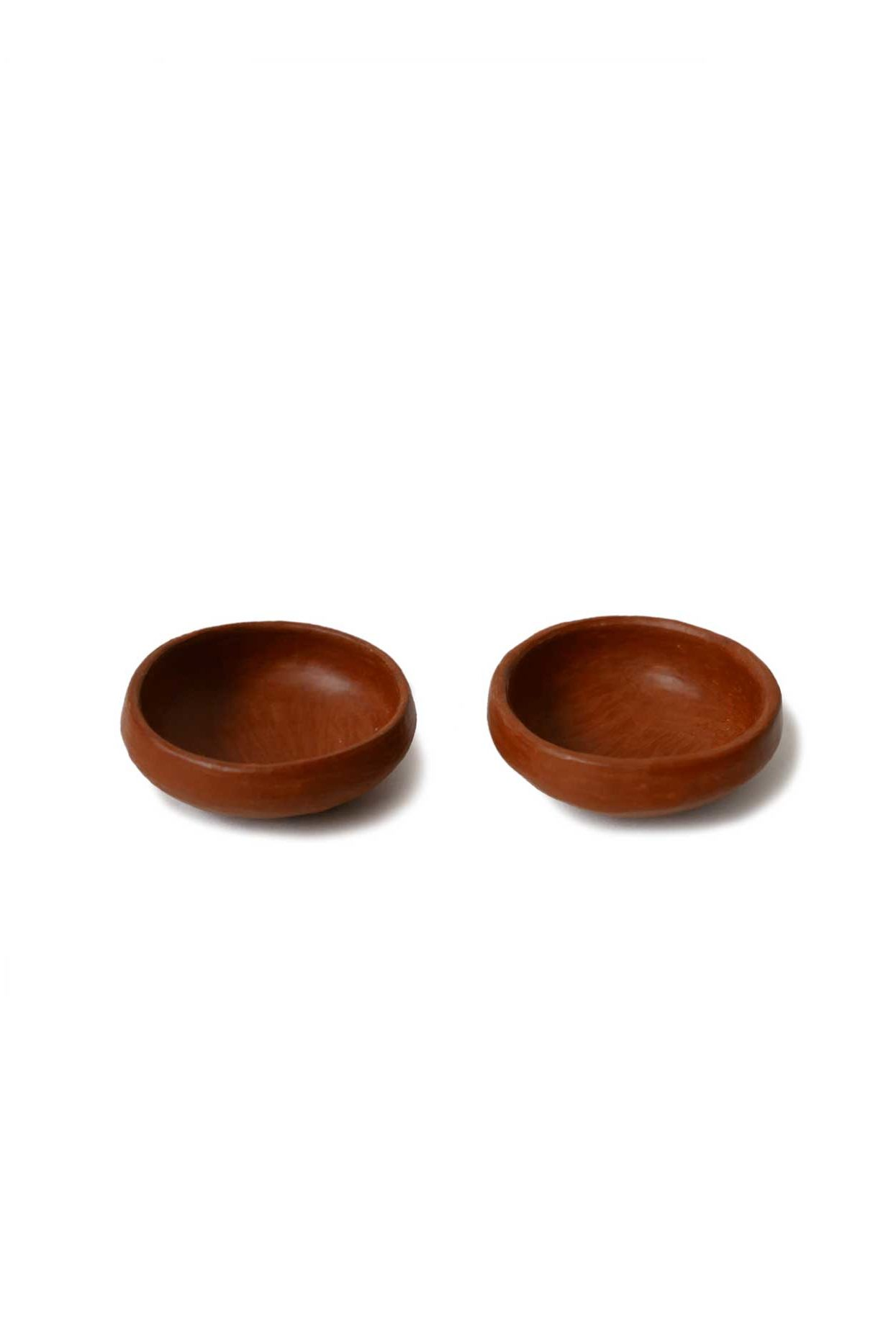 Mexican Barro Rojo Ceramic Salt and Pepper Saucers - www.nidocollective.com #barrorojo #mexicanceramics #redclaypottery #terracottapottery