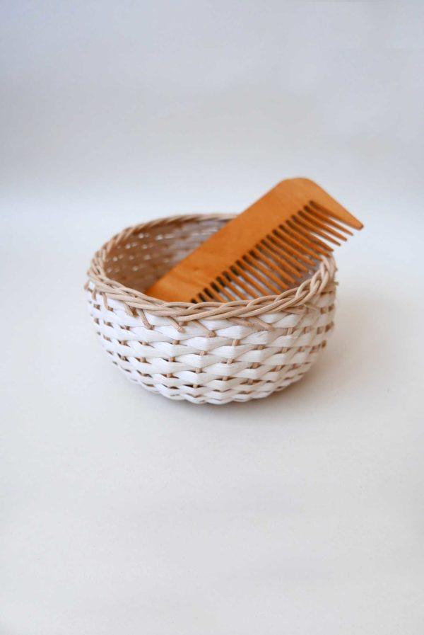 Handwoven Small Bejuco Trinket Basket #mexicanbasket #basketweaving #bejucobasket #trinketbasket