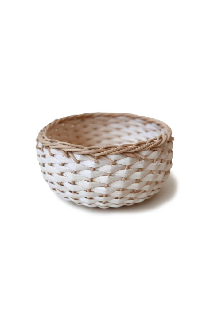 Handwoven Mexican Large Bejuco Trinket Basket #mexicanbasket #basketweaving #bejucobasket #trinketbasket