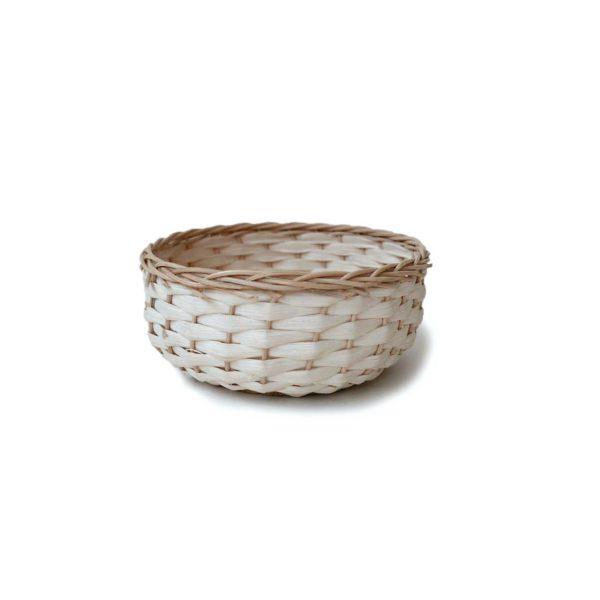 Handwoven Mexican Small Bejuco Trinket Basket - www.nidocollective.com #mexicanbasket #basketweaving #bejucobasket #trinketbasket