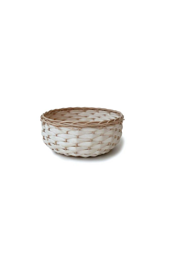 Handwoven Mexican Small Bejuco Trinket Basket - www.nidocollective.com #mexicanbasket #basketweaving #bejucobasket #trinketbasket