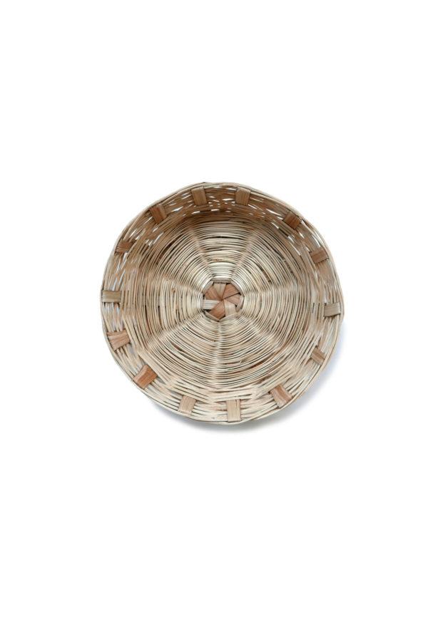 Handwoven Mexican Carrizo Bread Basket - www.nidocollective.com #mexicanbasket #carrizobasket #breadbasket
