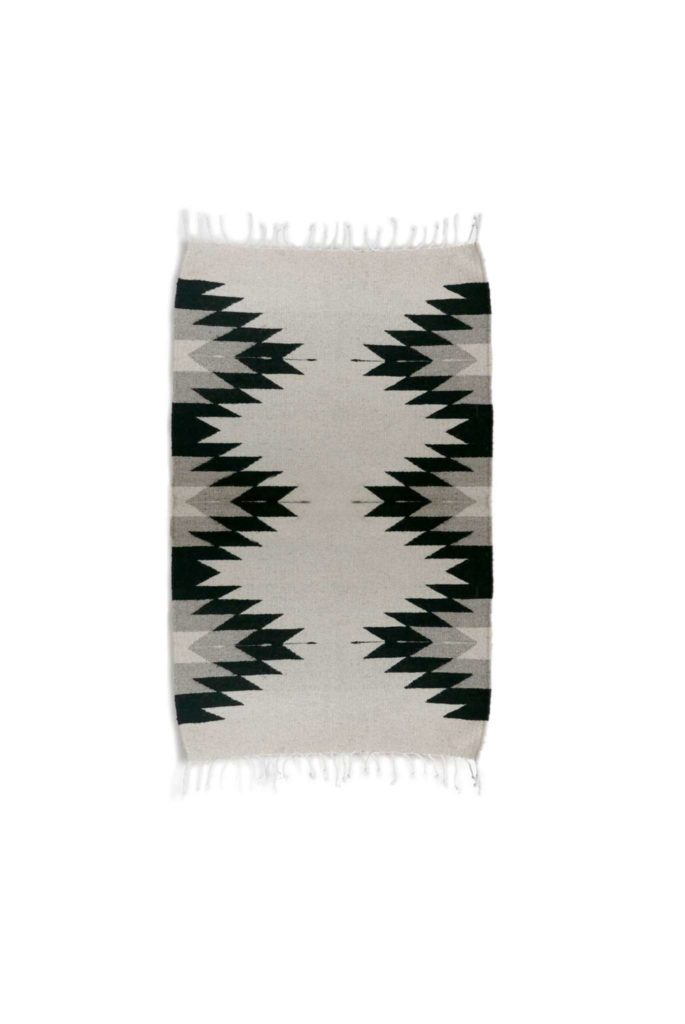 Handmade Mono Zapotec Mexican Rug - www.nidocollective.com #mexicanrug #zapotecrug #teotitlan