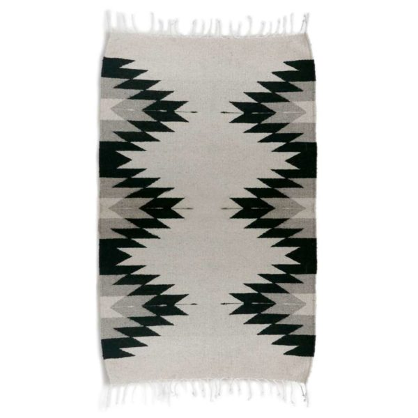 Zapotec Mexican Rug - www.nidocollective.com #mexicanrug #zapotecrug #teotitlan