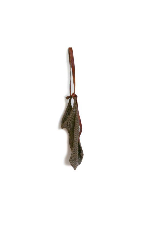 Tobacco Maguey Shopper Bag - www.nidocollective.com #magueybag #maguey #netbag #mexicanbag