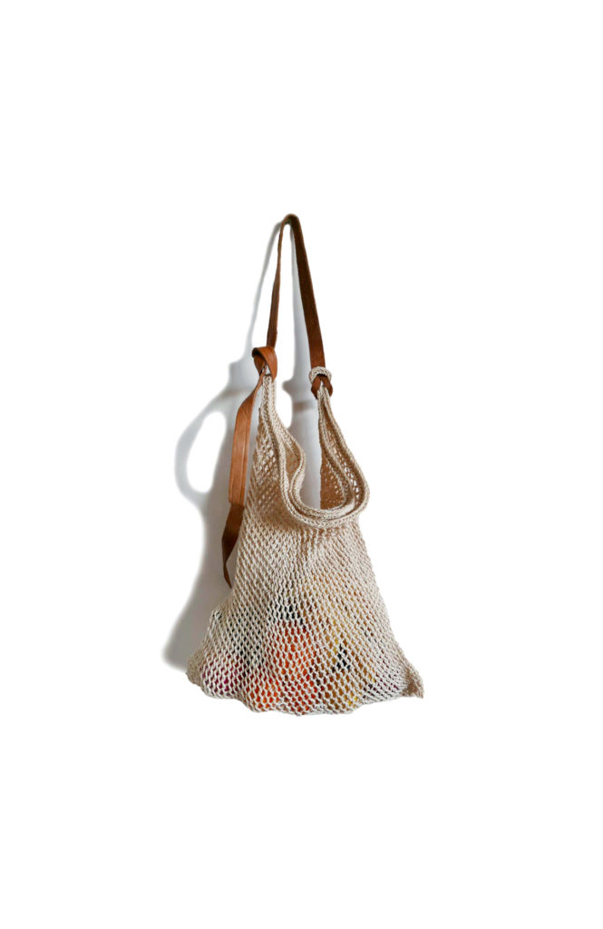 Natural Maguey Shopper Bag - www.nidocollective.com #magueybag #maguey #netbag #mexicanbag