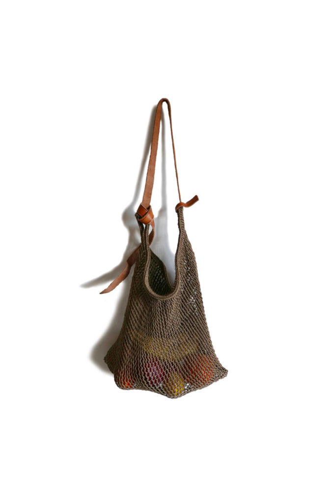 Tobacco Maguey Net Bag - www.nidocollective.com #magueybag #maguey #netbag #mexicanbag