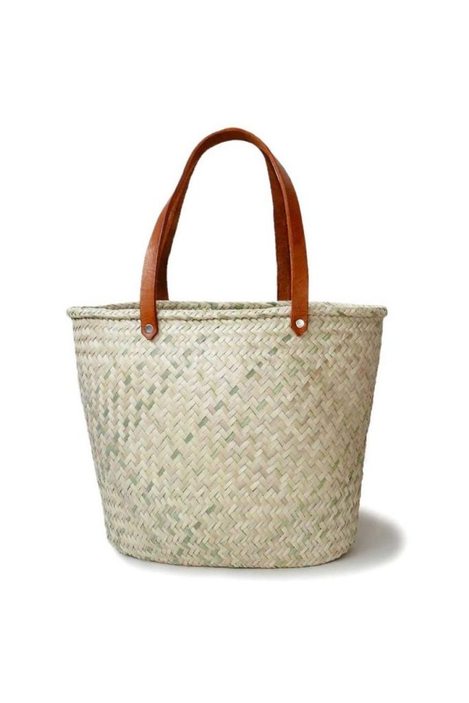 Mexican Palma Basket Shoulder Bag