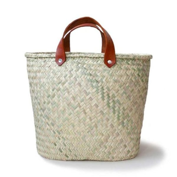 Basket Bag - www.nidocollective.com #basketbag #palmweaving #basketbag #mexicanbag