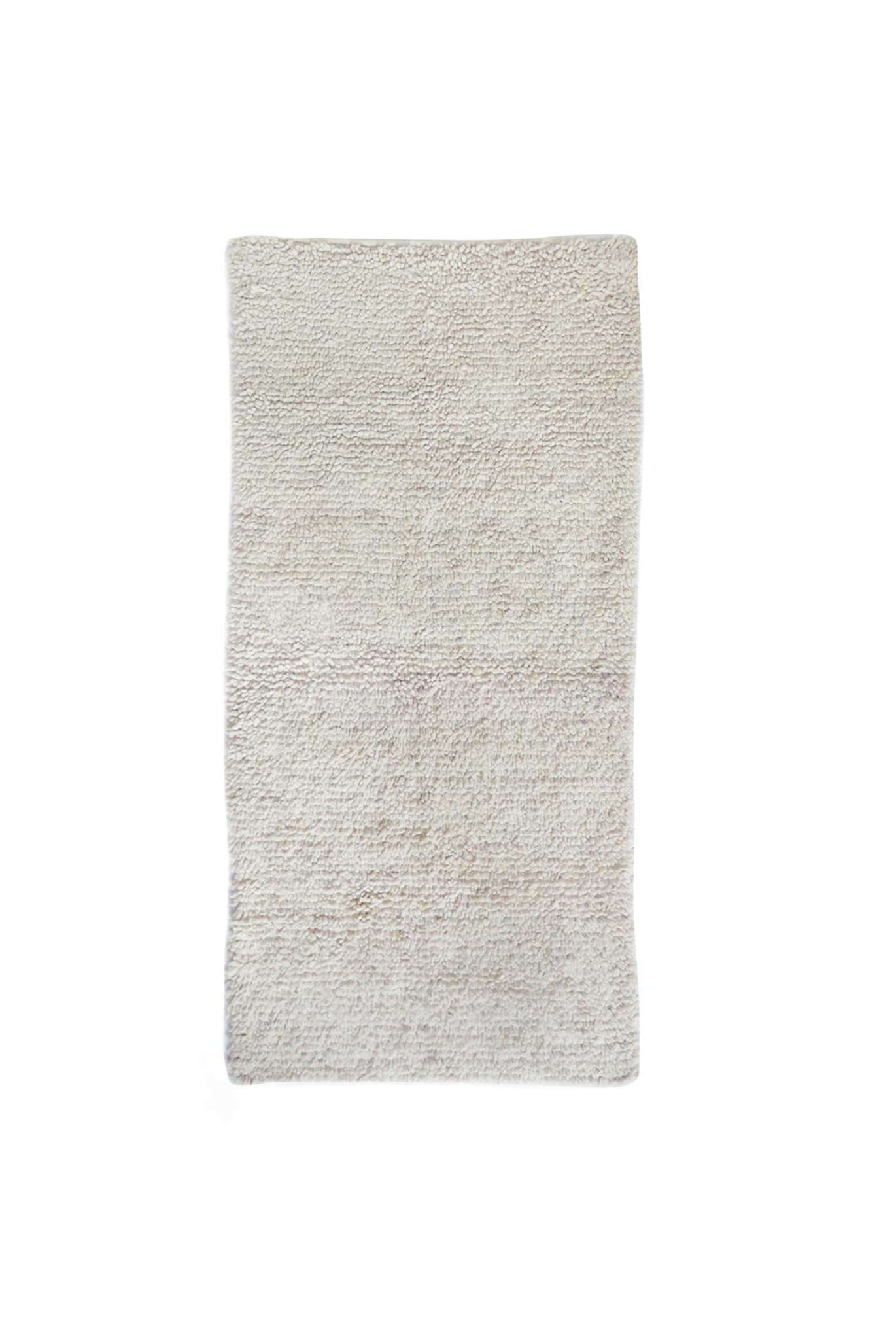 Cream Deep Pile Chichi Rug