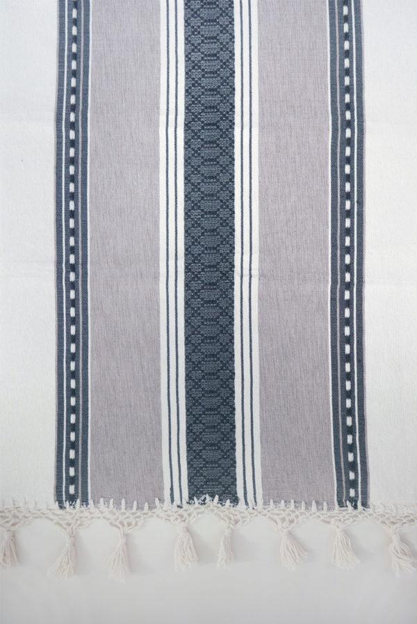 Mexican Coffee Tassel Bedspread - www.nidocollective.com #bedspread #handmade #mexicanbedspread