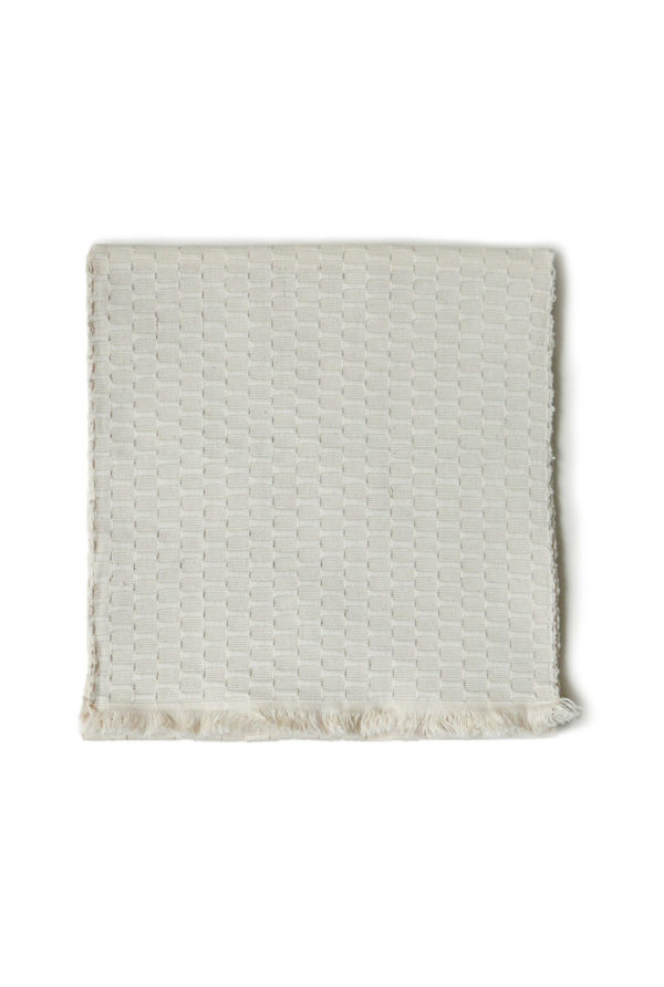 Mexican Cream Textured Table Runner