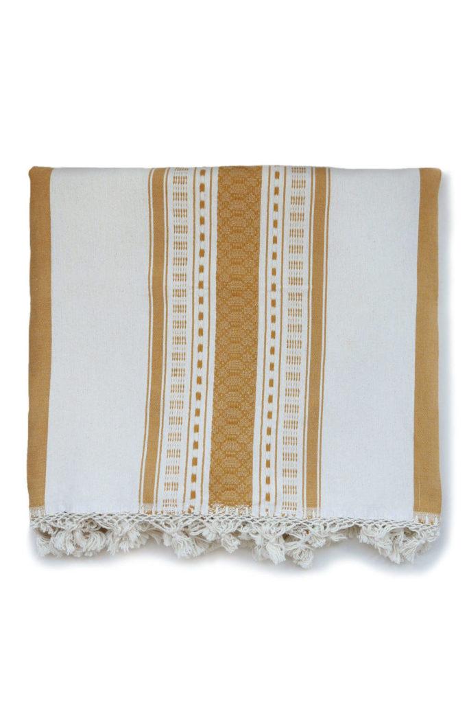 Mexican Tassel Bedspread - www.nidocollective.com #bedspread #handmade #mexicanbedspread