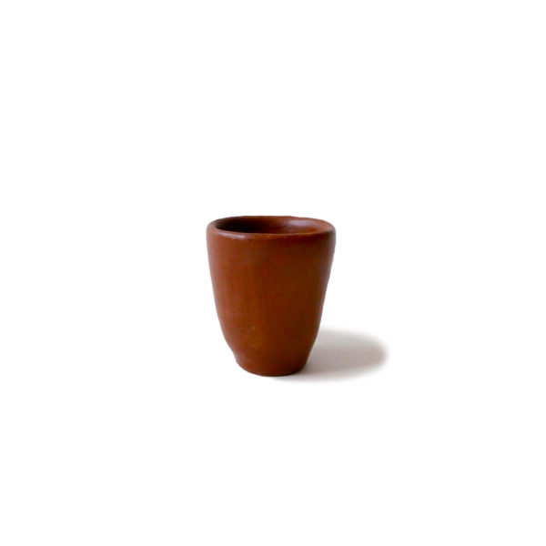 Mexican Barro Rojo Red Clay Ceramic Egg Cup - www.nidocollective.com #barrorojo #mexicanceramics #redclaypottery #terracottaeggcup