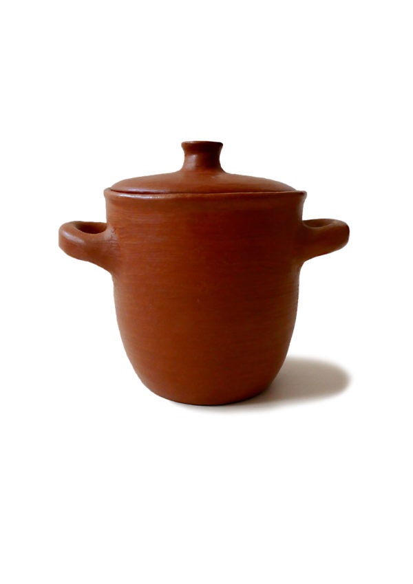 Mexican Barro Rojo Red Clay Ceramic Pot with Lid - www.nidocollective.com #barrorojo #mexicanceramics #redclaypottery #terracottapot