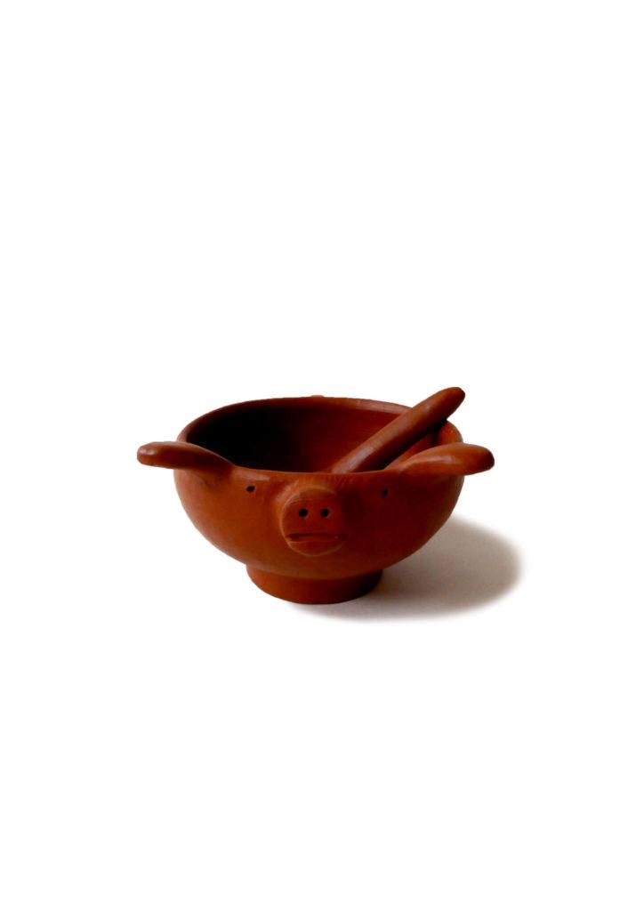 Mexican Barro Rojo Red Clay Ceramic Salsa Bowl - www.nidocollective.com #barrorojo #mexicanceramics #redclaypottery #terracottasalsabowl