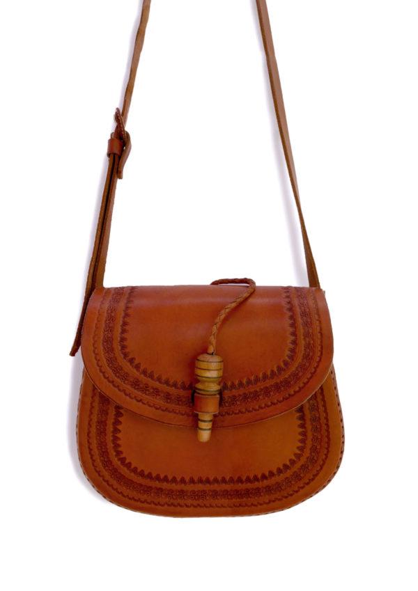 Embossed Cross Body Bag - www.nidocollective.com #festivalcrossbody #leathercrossbodybag #ethicalaccessories #musthavecrossbodybag