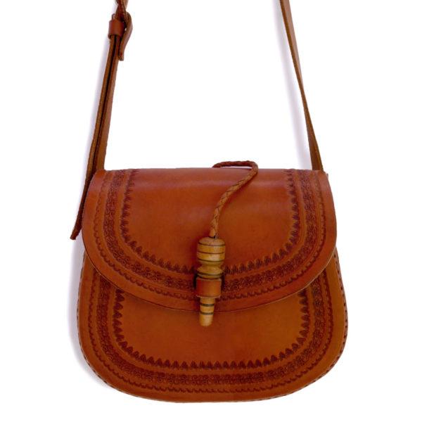 Handmade Leather Bag - www.nidocollective.com #festivalcrossbody #leathercrossbodybag #ethicalaccessories #musthavecrossbodybag