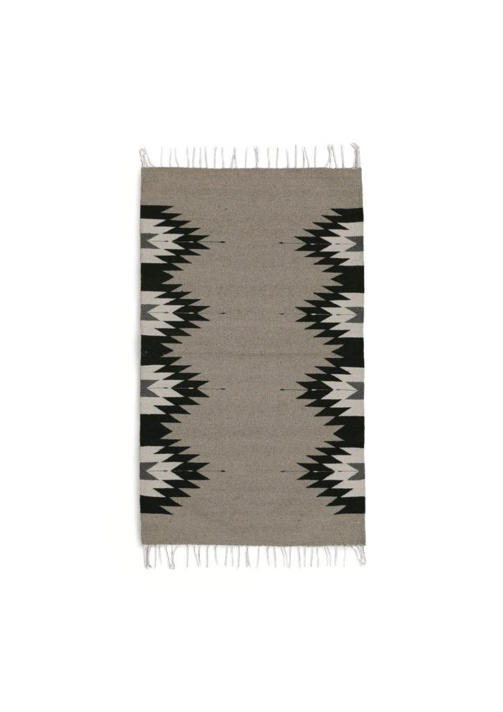 Large Zapotec Rug - www.nidocollective.com #mexicanrug #zapotecrug #teotitlandelvalle