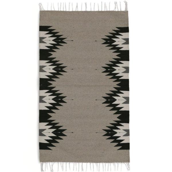 Flat Weave Rug - www.nidocollective.com #mexicanrug #zapotecrug #teotitlandelvalle