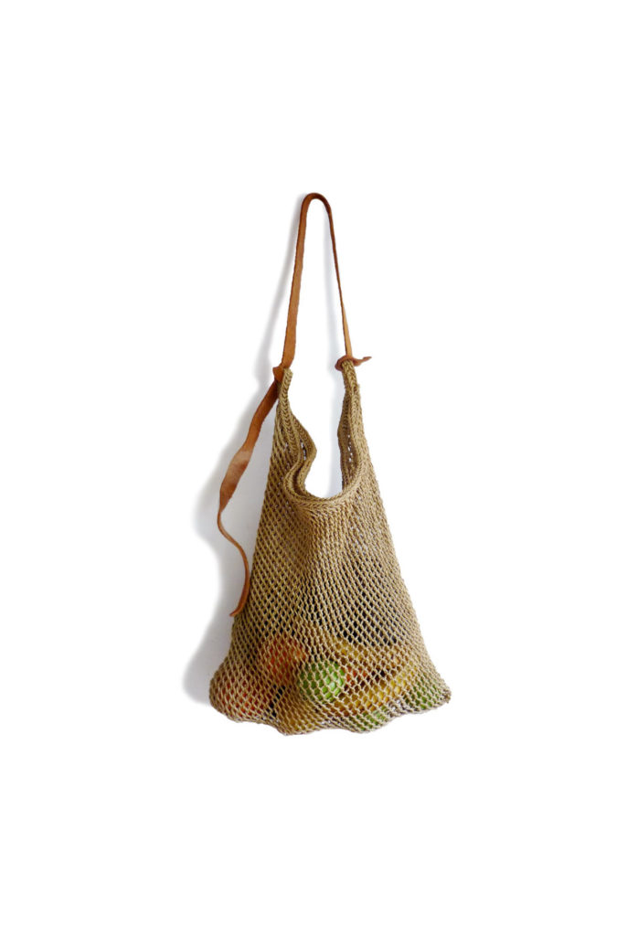 Sand Maguey Net Bag - www.nidocollective.com #magueybag #maguey #netbag #mexicanbag