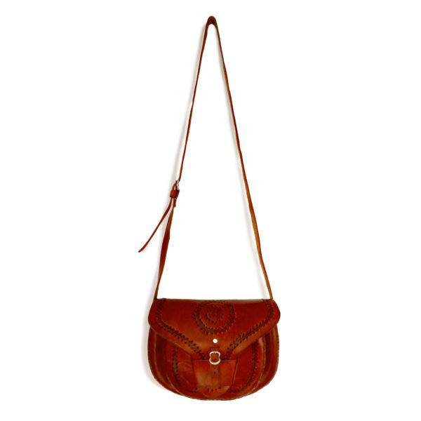 Cross Body Bag with Tuck - www.nidocollective.com #festivalcrossbody #leathercrossbodybag #ethicalaccessories #musthavecrossbodybag