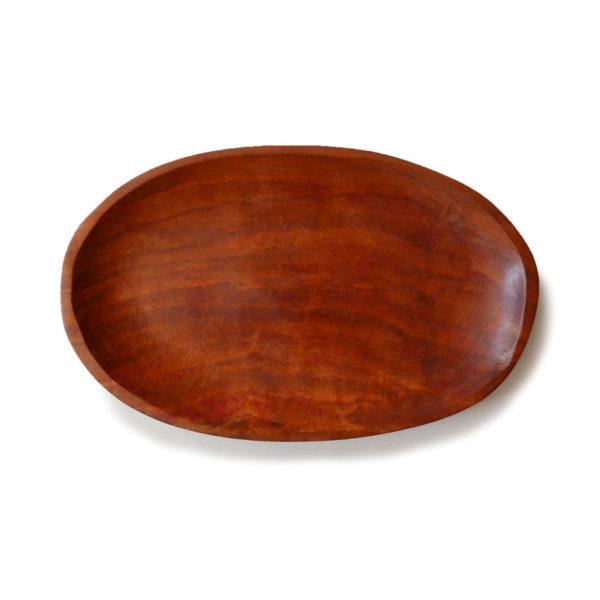 Dark Guamuchil Wood Serving Platter - www.nidocollective.com #woodenplatter #guamuchil #guamuchilplatter #guamuchiltree