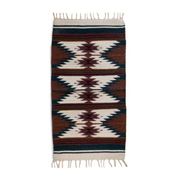 Lazo Mexican Zapotec Rug - www.nidocollective.com #mexicanrug #zapotecrug #teotitlandelvalle