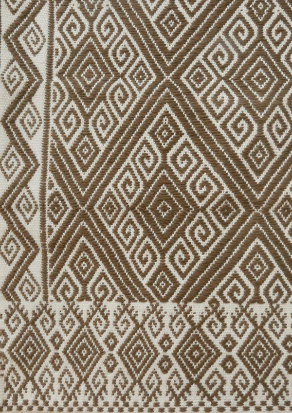 Mexican Cushion - www.nidocollective.com #embroideredcushion #backstrapweaving #mexicancushion