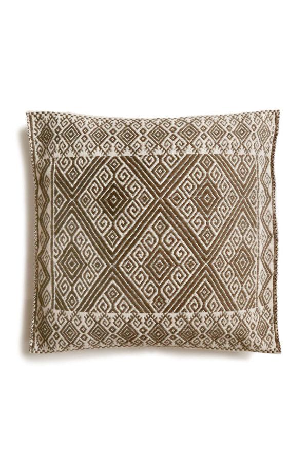 Mexican-Cushion - www.nidocollective.com #embroideredcushion #backstrapweaving #mexicancushion