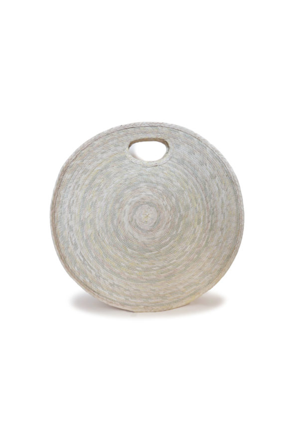 Rueda Palm Basket Bag - www.nidocollective.com #roundbasketbag #palmweaving #roundpalmbag #mexicanbag