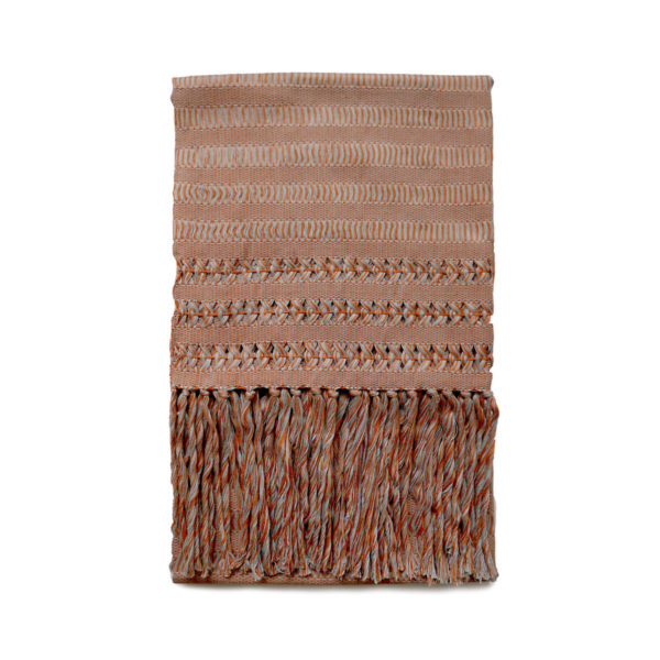 Orange Deshilado Shawl - www.nidocollective.com #ethicalaccessories #deshilado #ethicalaccessories