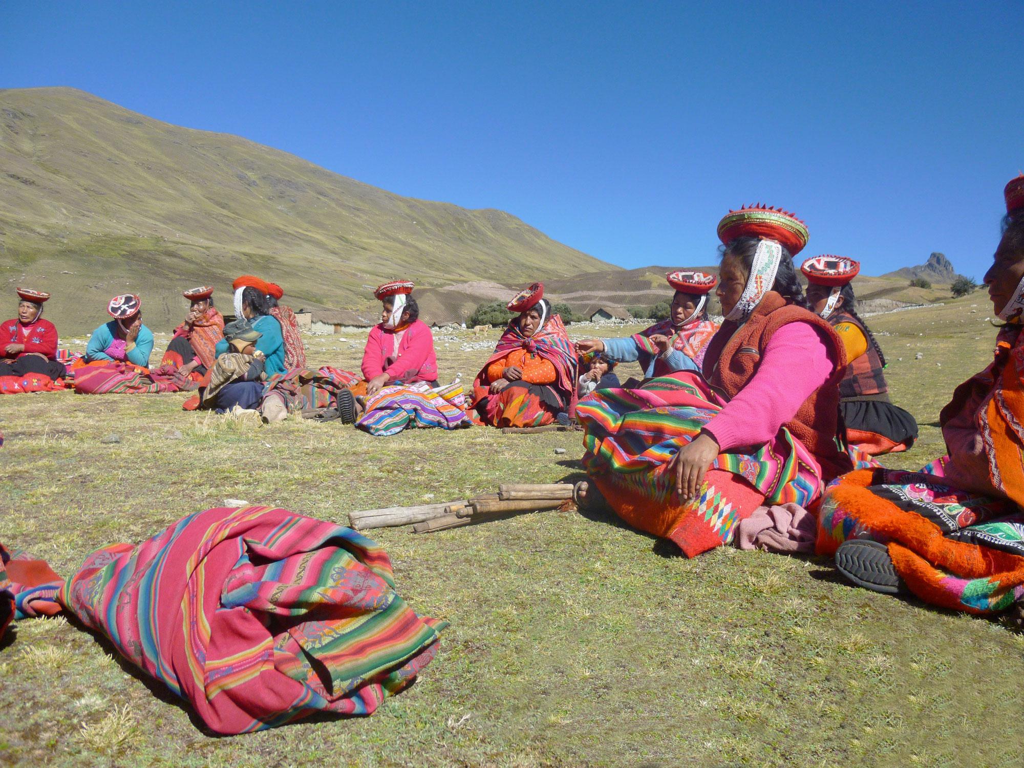 Quechua-Weavers