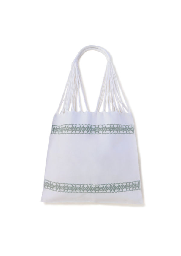 Mint Cotton Beach Bag - www.nidocollective.com #ethicalaccessories #mexicanbag